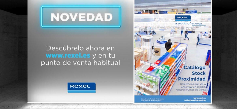 Imagen lanzamiento Catálogo Proximidad Rexel